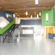 Foto av vestibyle, Spydeberg ungdomsskole