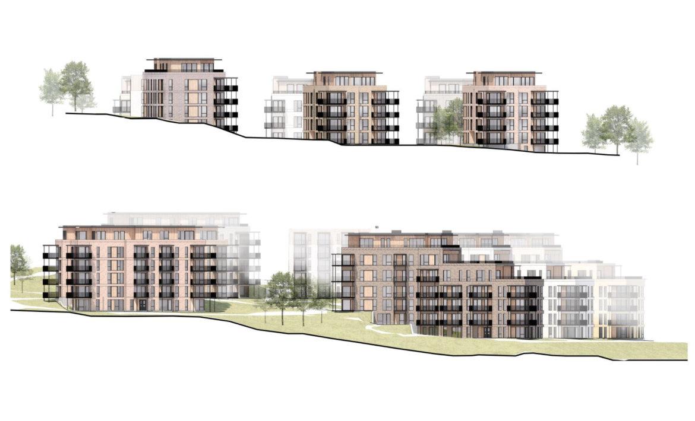 Kvernstua boligprosjekt - fasader